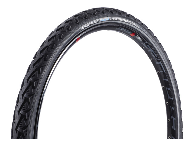 "SCHWALBE Land Cruiser Plus Active PunctureGuard Bike Tyre 27.5"", wire bead, Reflex black"